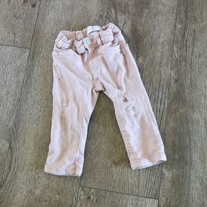 3/$15 the children's place pants 12-18 M